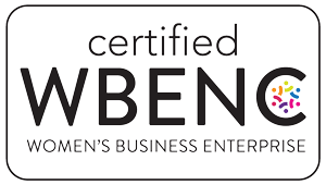 WBE certified seal